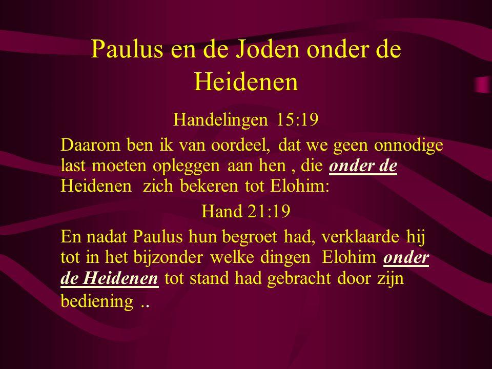 Paulus en de Joden onder de Heidenen