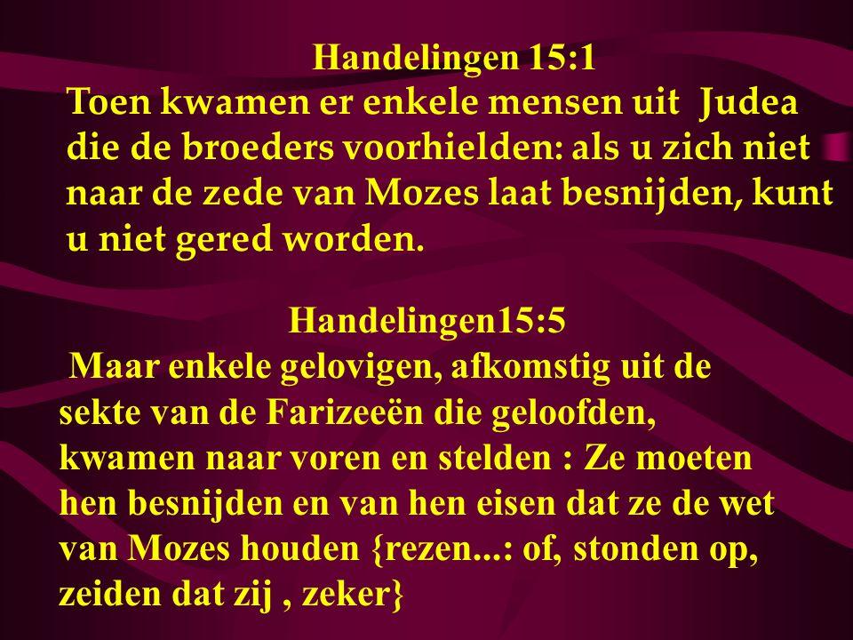 Handelingen 15:1