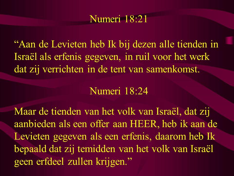 Numeri 18:21