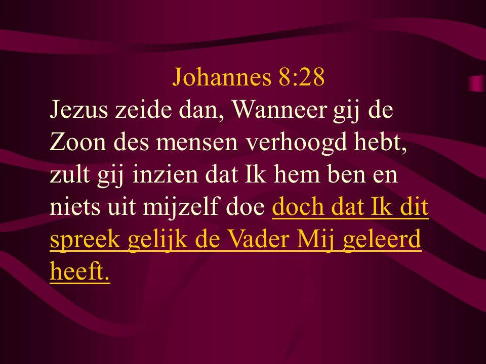 Johannes 8:28
