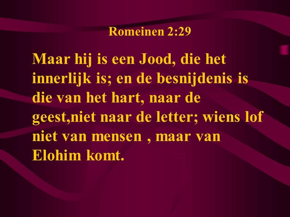 Romeinen 2:29