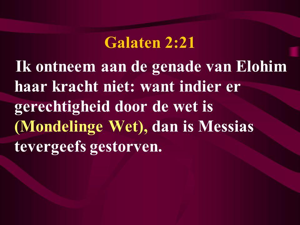 Galaten 2:21