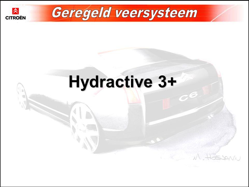 Hydractive 3+ Geregeld veersysteem