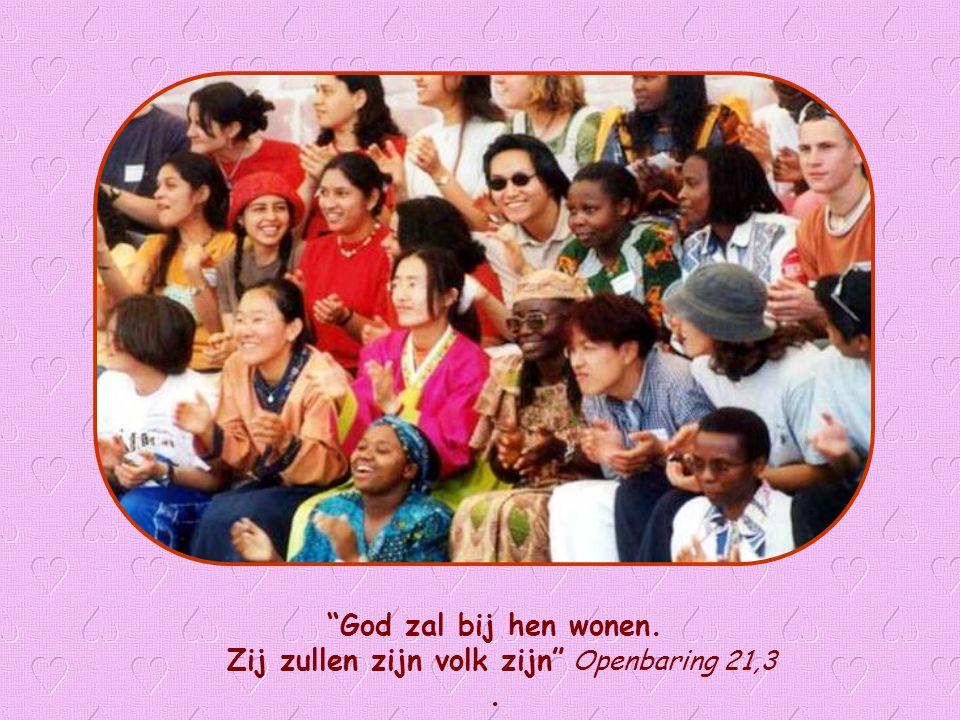 Zij zullen zijn volk zijn Openbaring 21,3