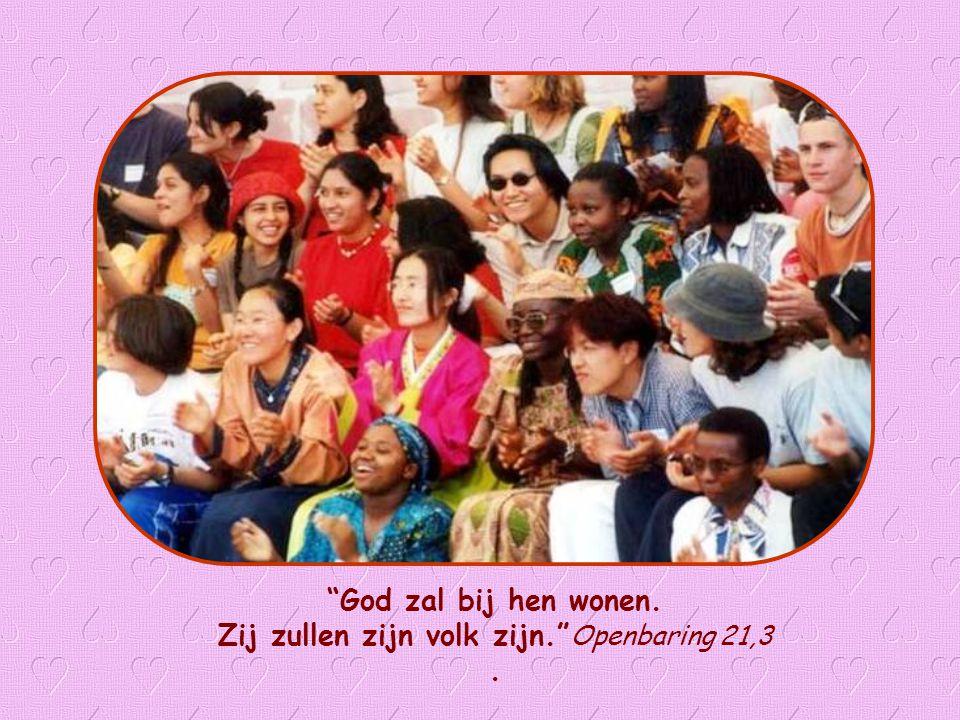 Zij zullen zijn volk zijn. Openbaring 21,3