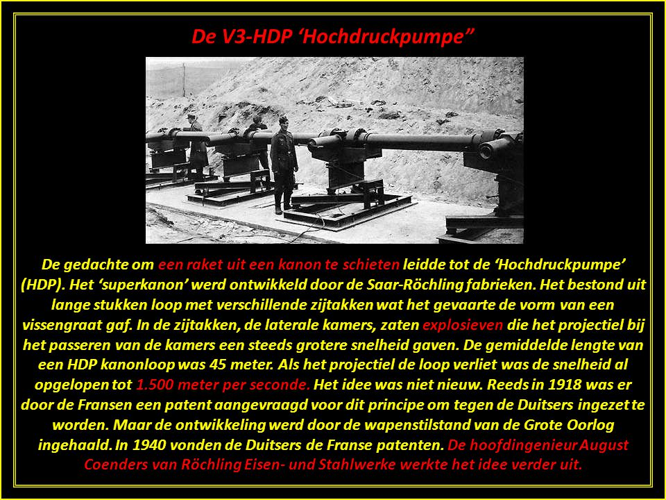 De V3-HDP 'Hochdruckpumpe