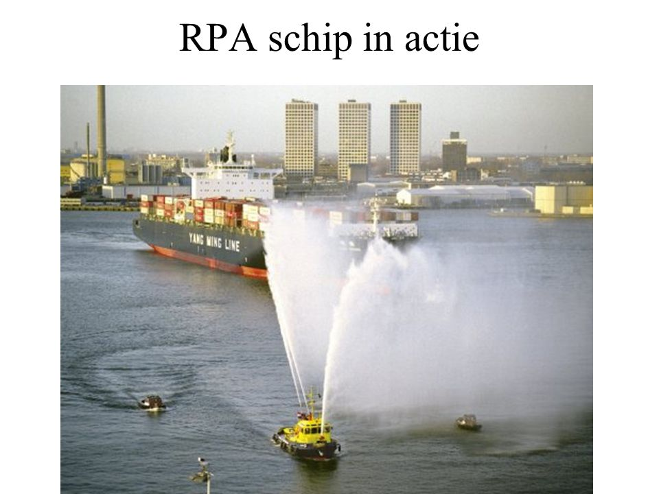 RPA schip in actie