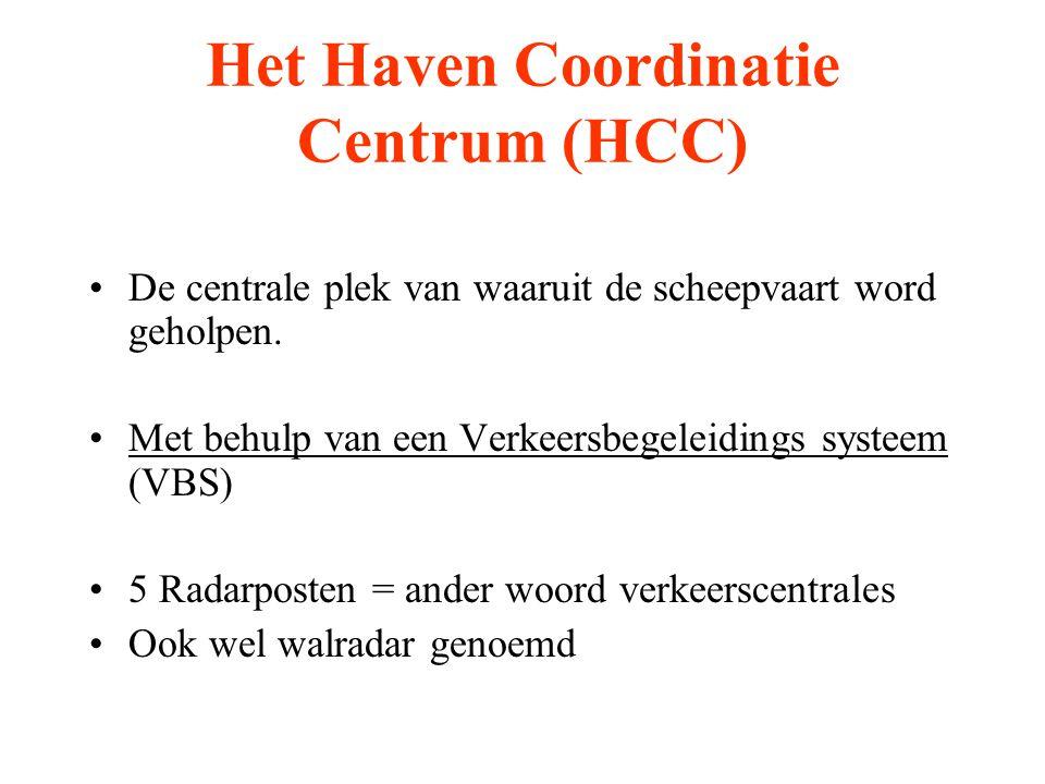 Het Haven Coordinatie Centrum (HCC)