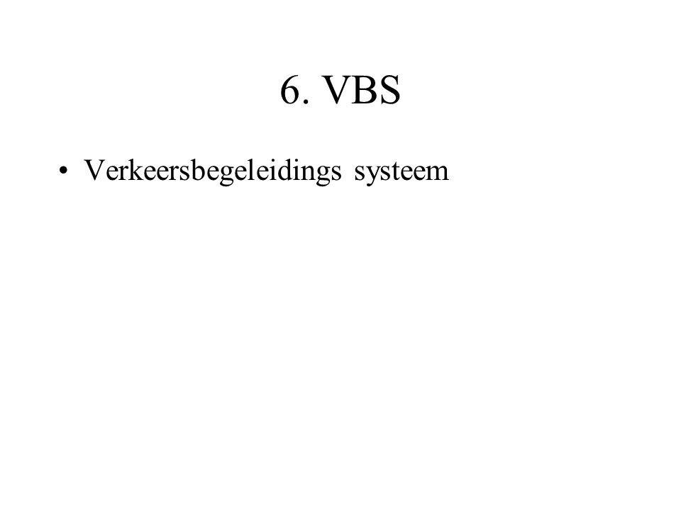 6. VBS Verkeersbegeleidings systeem