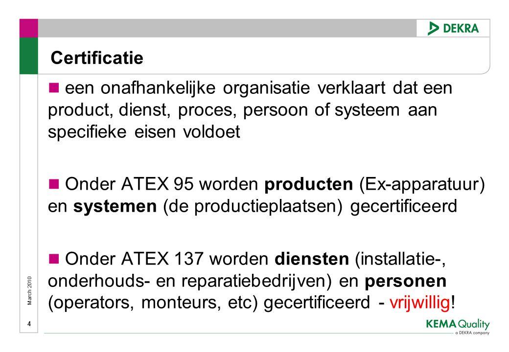 Certificatie een onafhankelijke organisatie verklaart dat een product, dienst, proces, persoon of systeem aan specifieke eisen voldoet.
