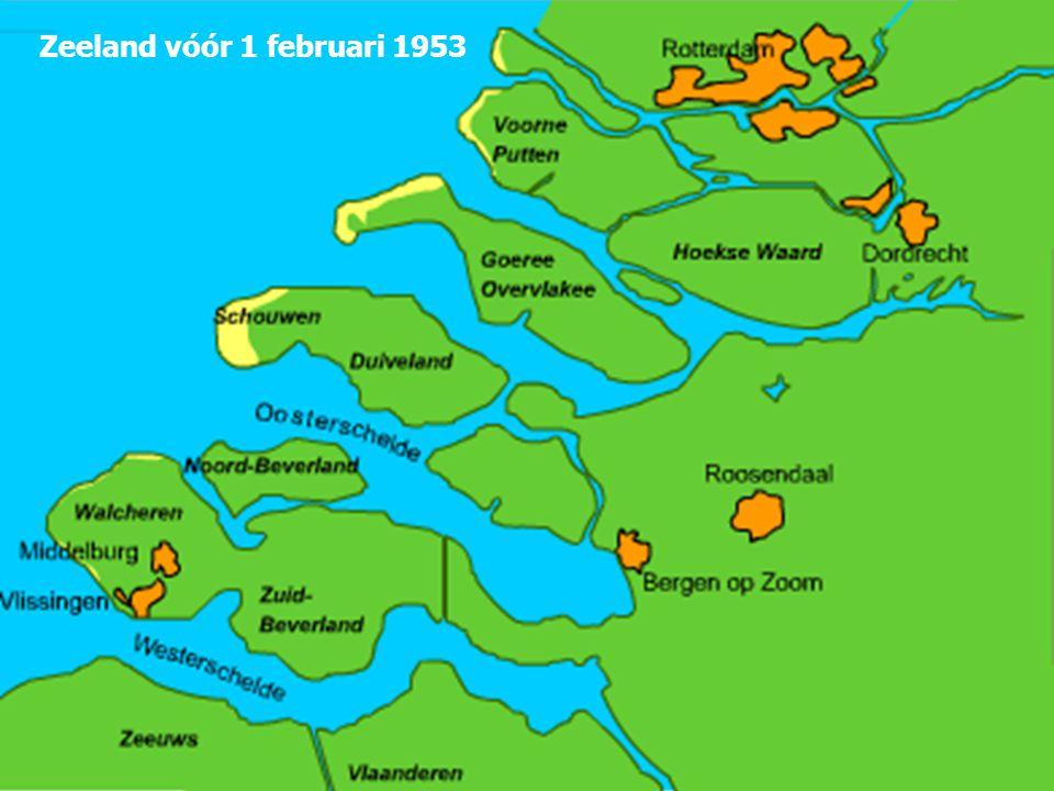 Zeeland vóór 1 februari 1953