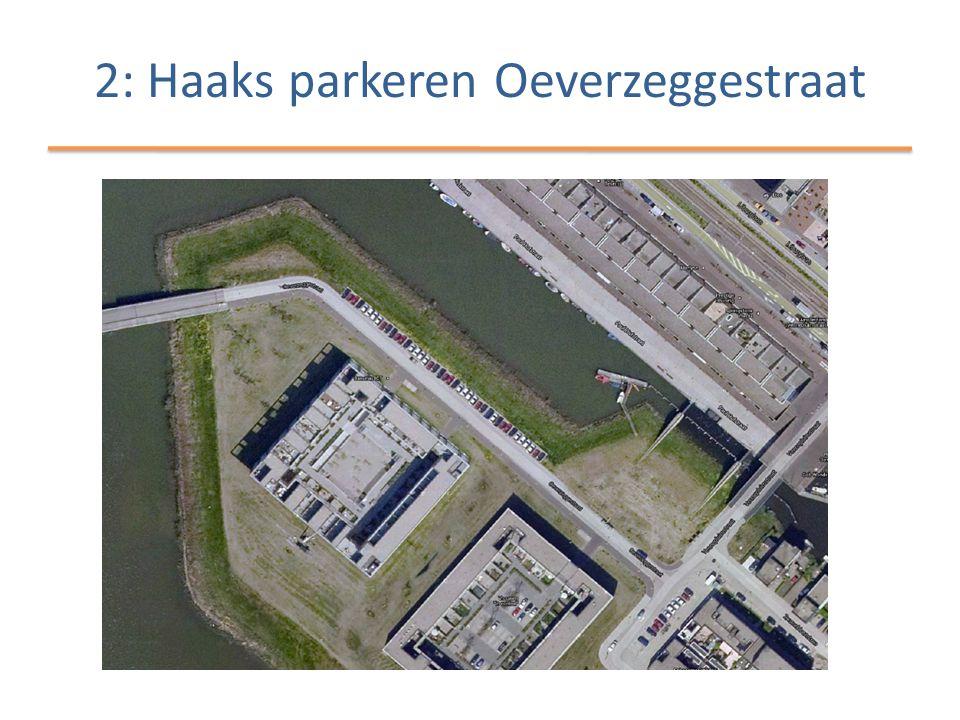 2: Haaks parkeren Oeverzeggestraat