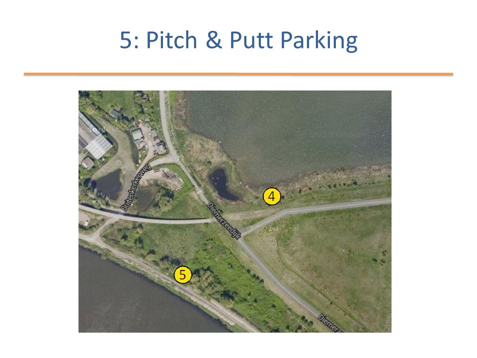 5: Pitch & Putt Parking