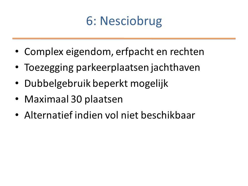 6: Nesciobrug Complex eigendom, erfpacht en rechten