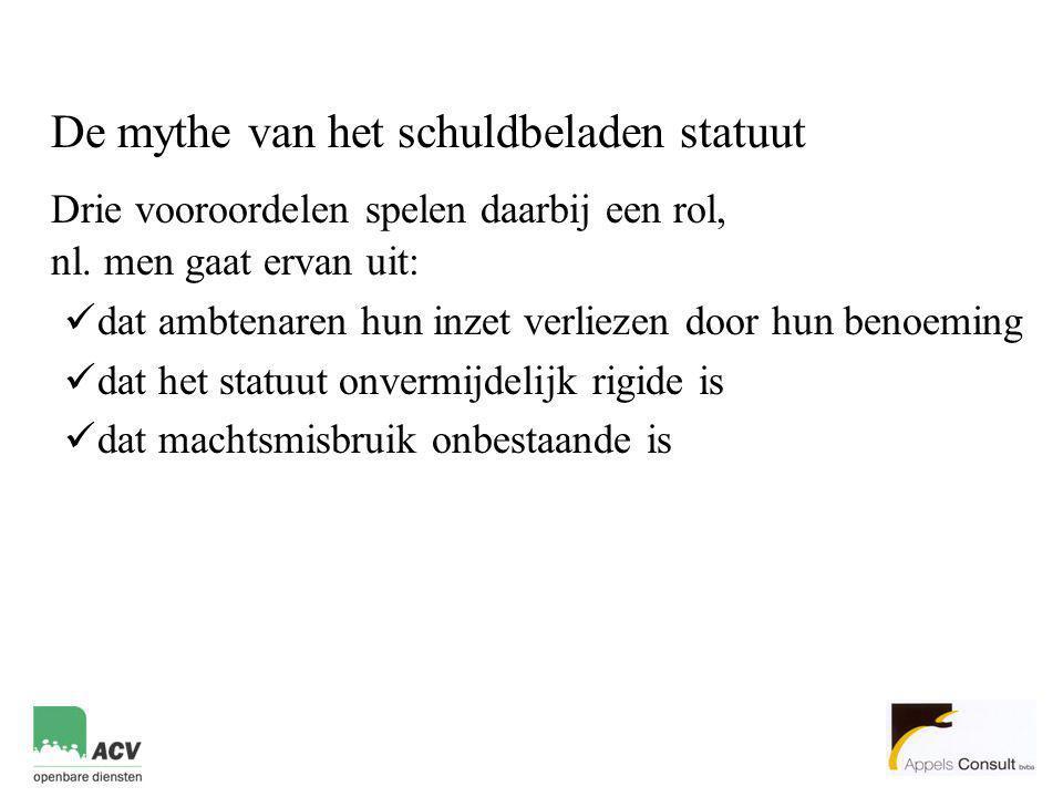 Drie vooroordelen spelen daarbij een rol, nl. men gaat ervan uit: