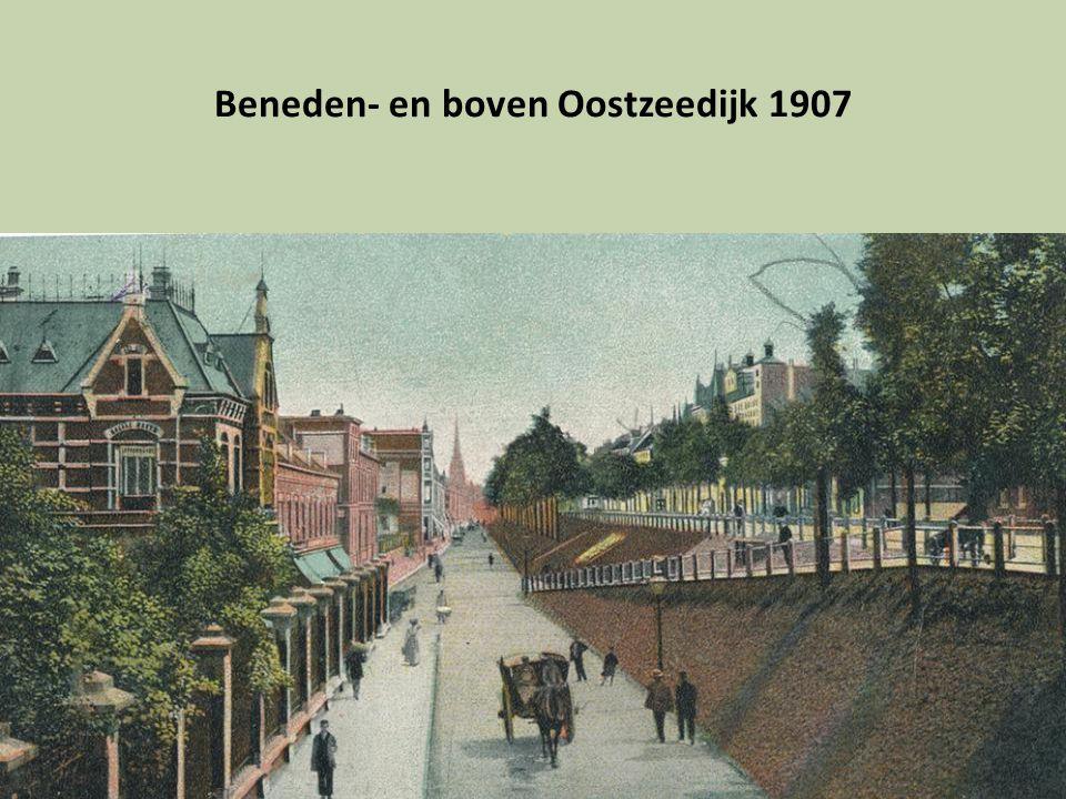 Beneden- en boven Oostzeedijk 1907