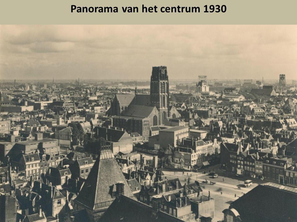 Panorama van het centrum 1930