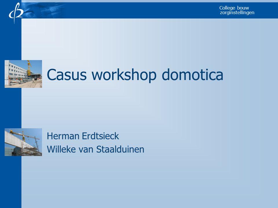 Casus workshop domotica
