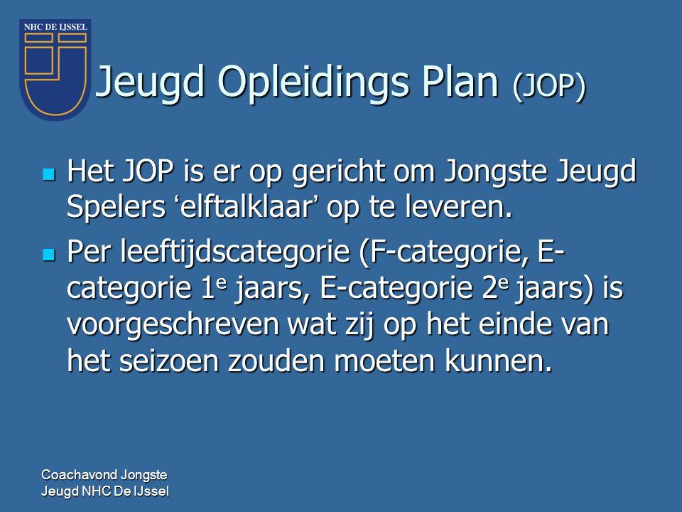 Jeugd Opleidings Plan (JOP)