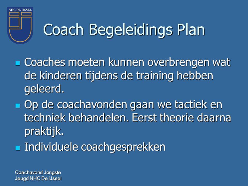 Coach Begeleidings Plan