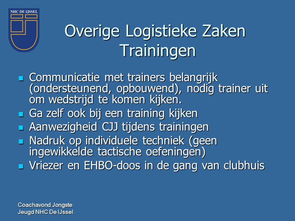Overige Logistieke Zaken Trainingen