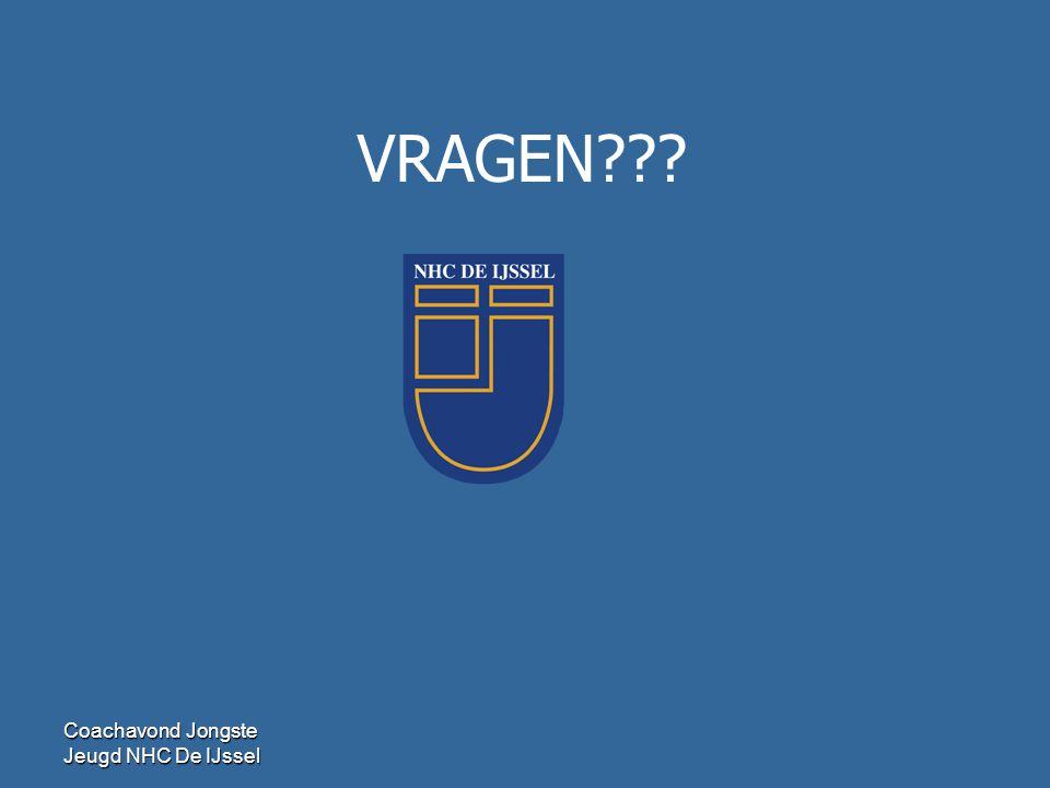 VRAGEN Coachavond Jongste Jeugd NHC De IJssel 42