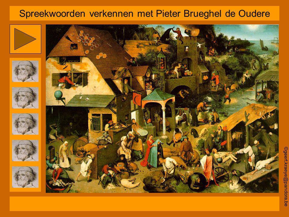 Spreekwoorden verkennen met Pieter Brueghel de Oudere