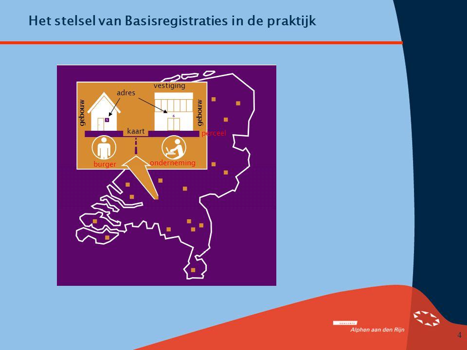 Het stelsel van Basisregistraties in de praktijk