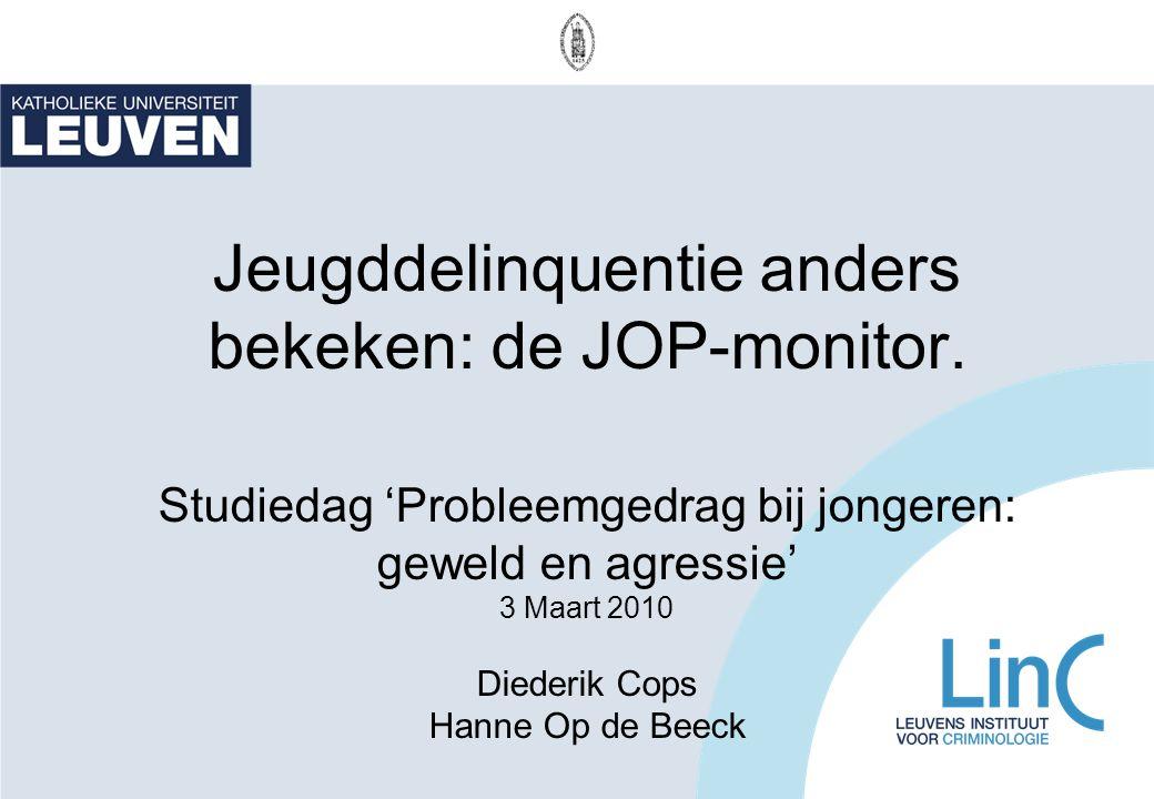Jeugddelinquentie anders bekeken: de JOP-monitor
