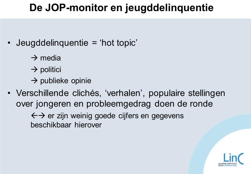 De JOP-monitor en jeugddelinquentie