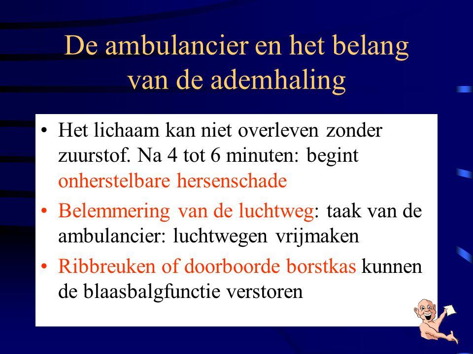 De ambulancier en het belang van de ademhaling