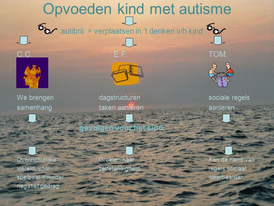 Opvoeden kind met autisme