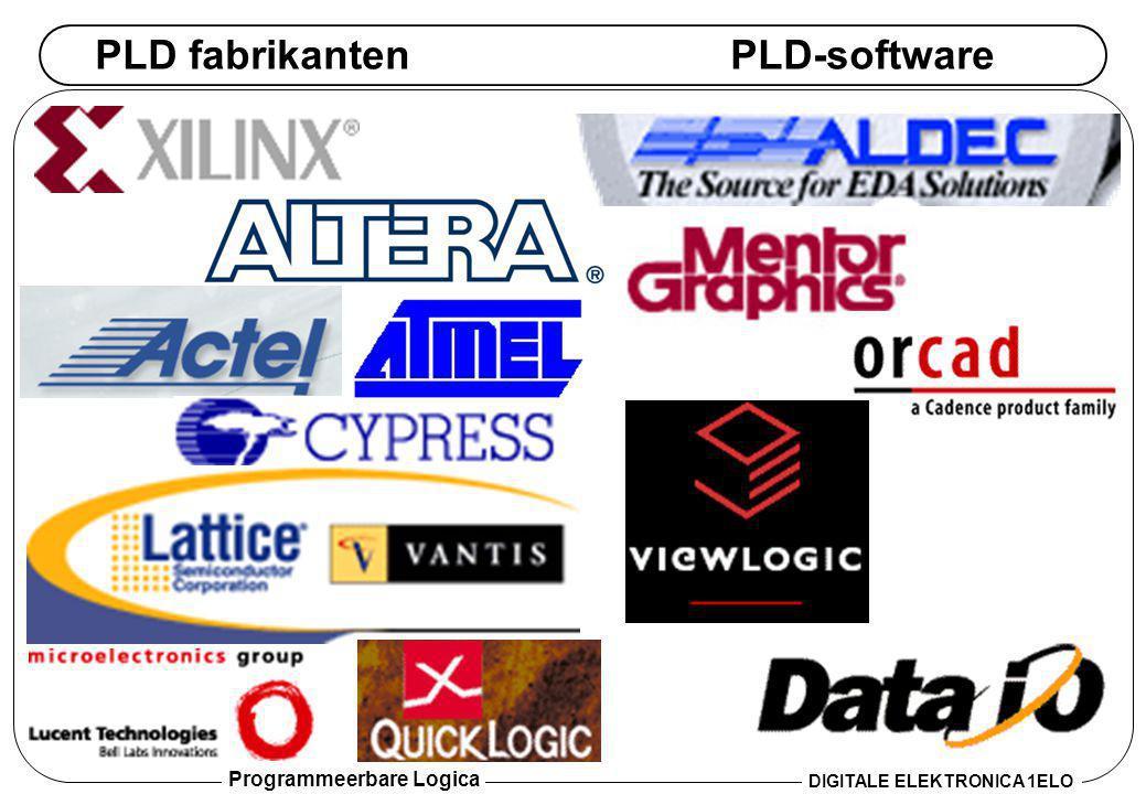 PLD fabrikanten PLD-software