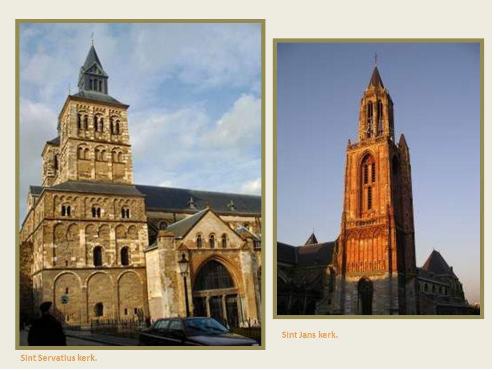 Sint Jans kerk. Sint Servatius kerk.