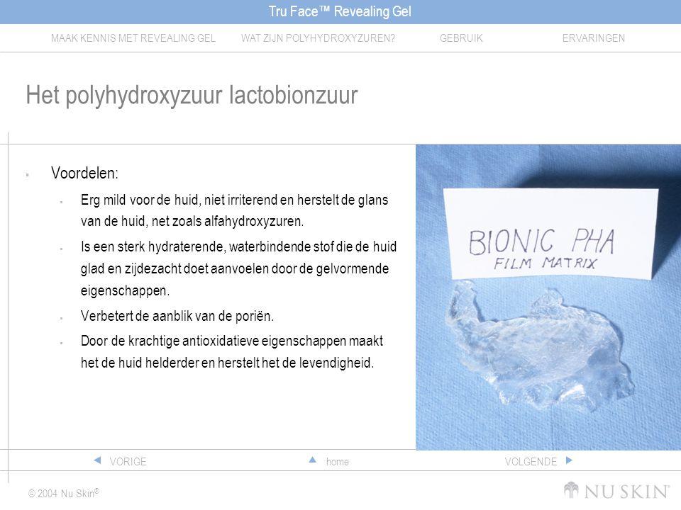Het polyhydroxyzuur lactobionzuur