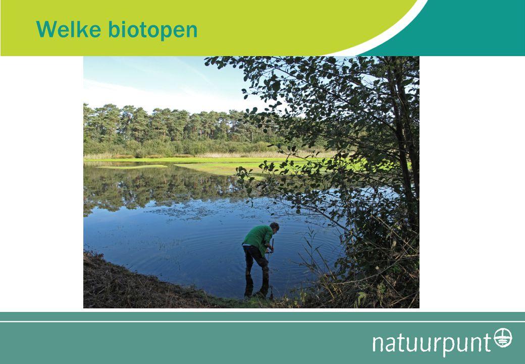 Welke biotopen