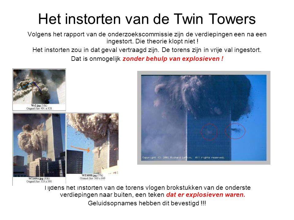 Het instorten van de Twin Towers