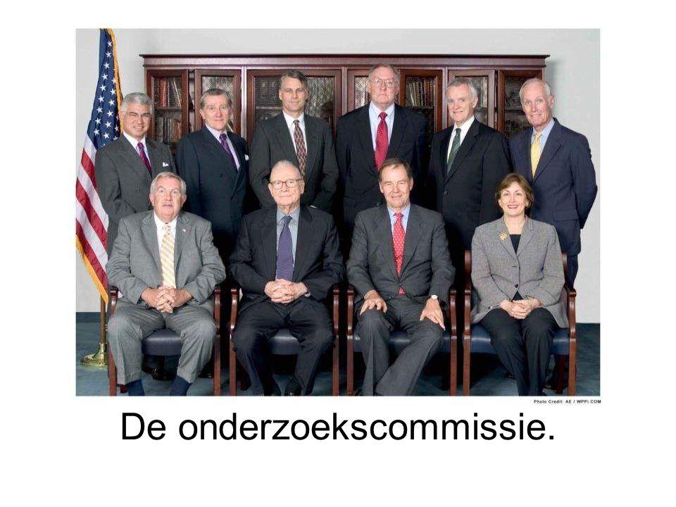De onderzoekscommissie.