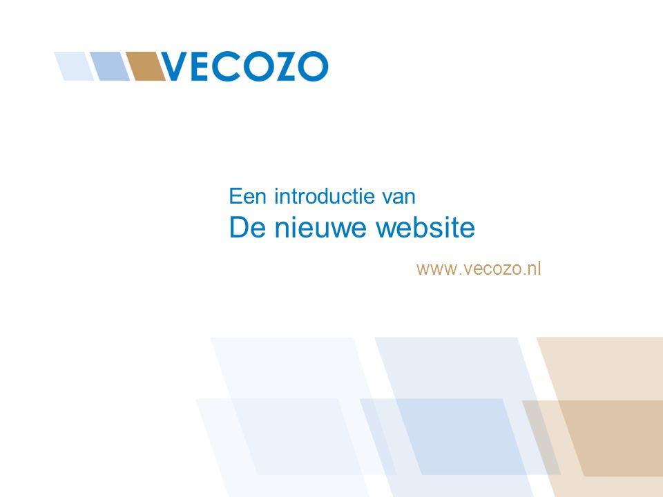 Een introductie van De nieuwe website