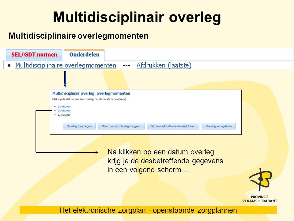 Multidisciplinair overleg