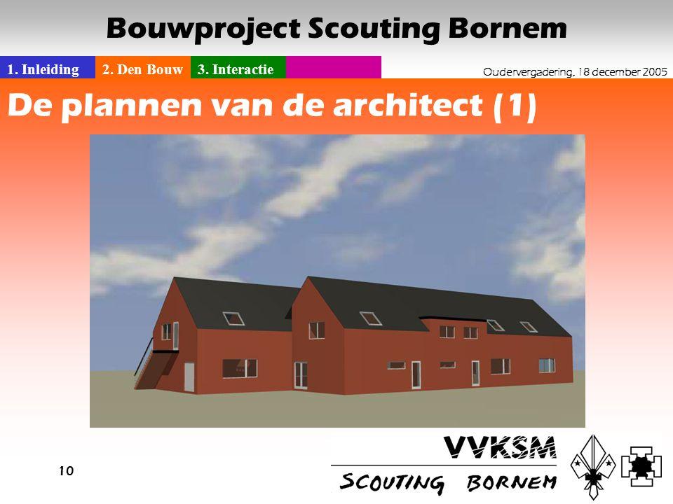 De plannen van de architect (1)