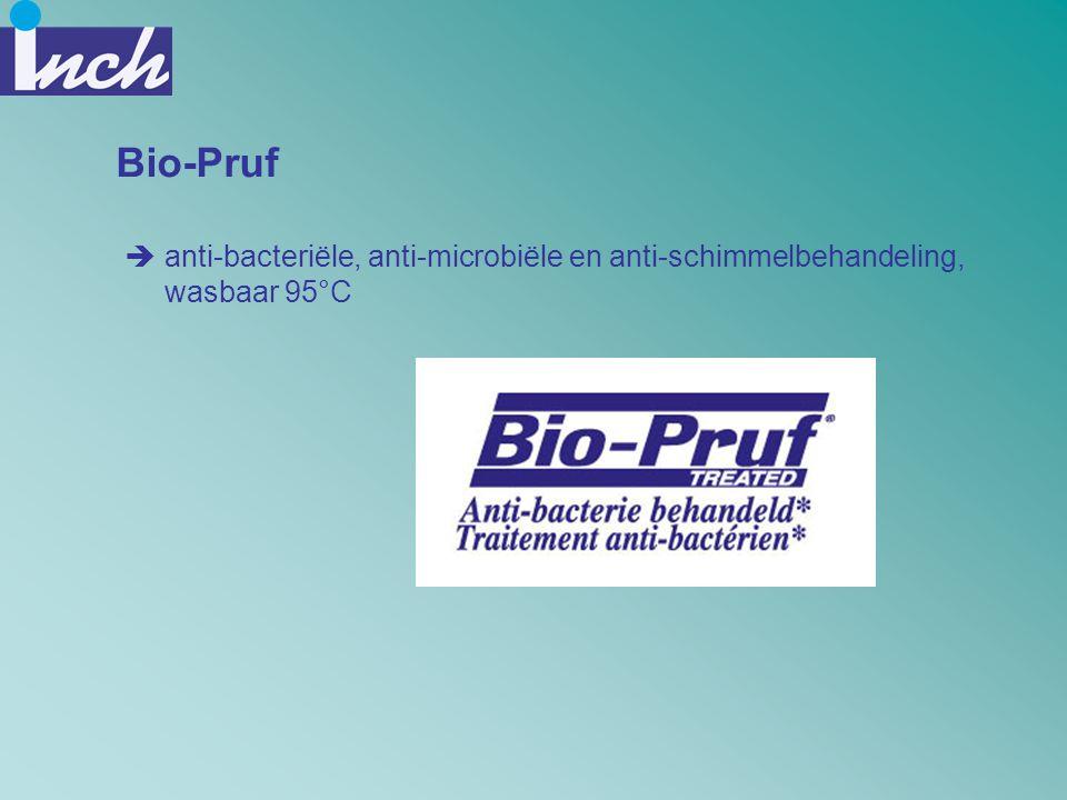 Bio-Pruf anti-bacteriële, anti-microbiële en anti-schimmelbehandeling, wasbaar 95°C