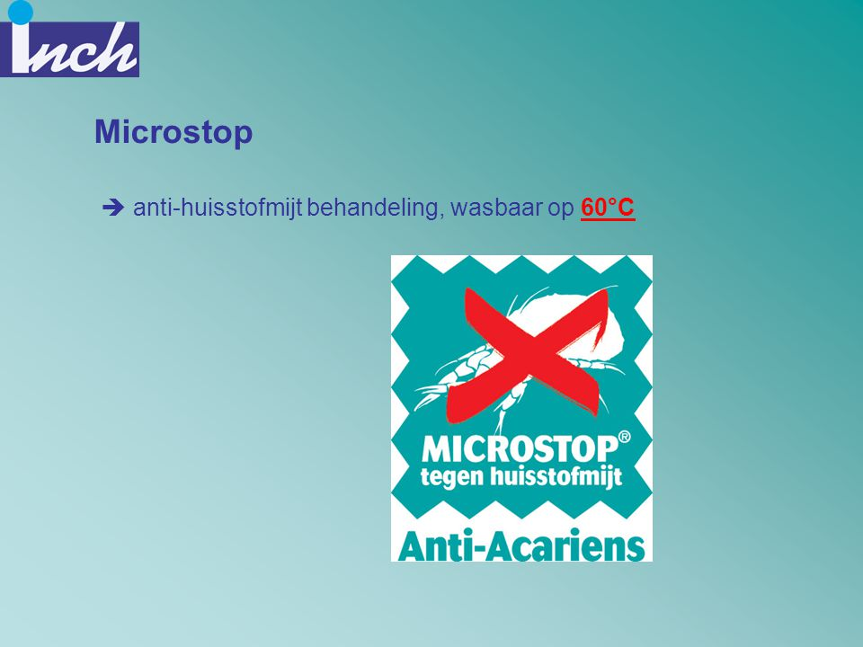 Microstop anti-huisstofmijt behandeling, wasbaar op 60°C