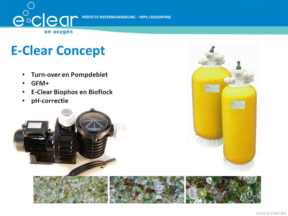 E-Clear Concept Turn-over en Pompdebiet GFM+