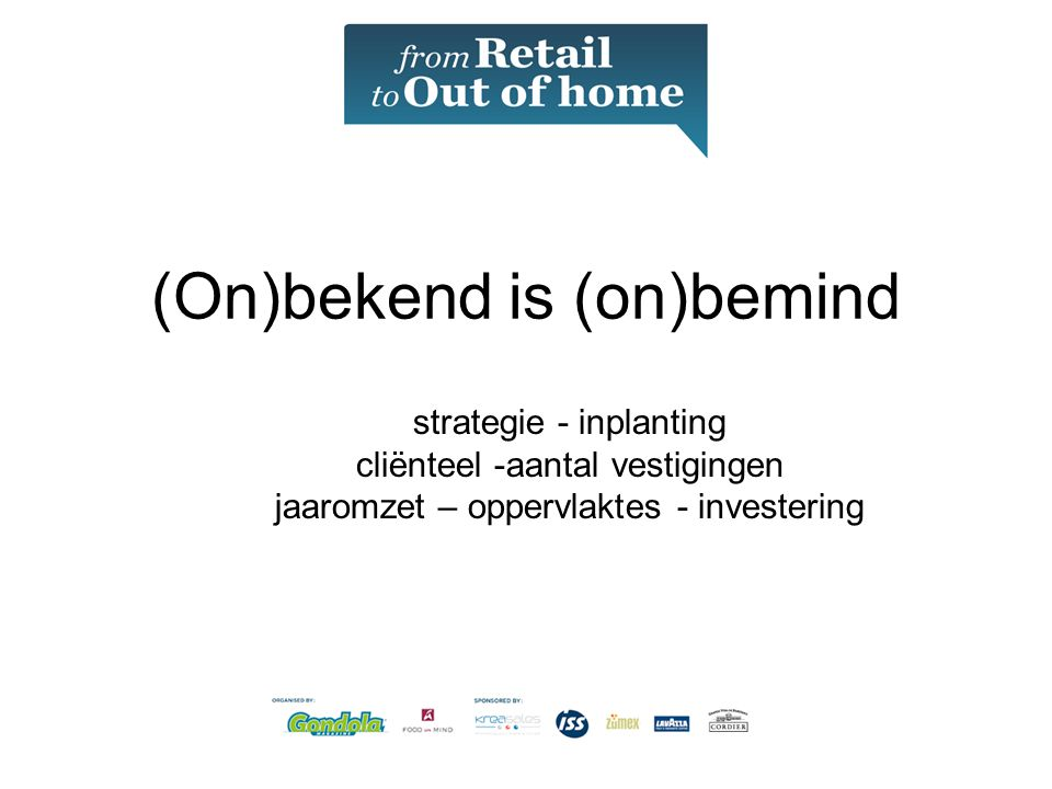 (On)bekend is (on)bemind