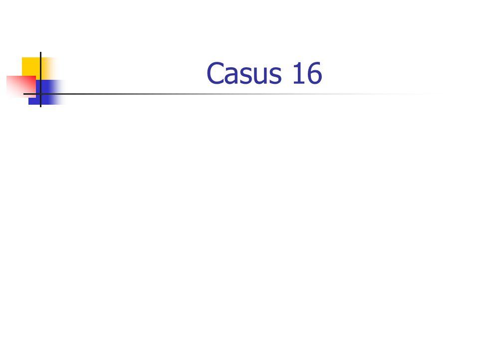 Casus 16