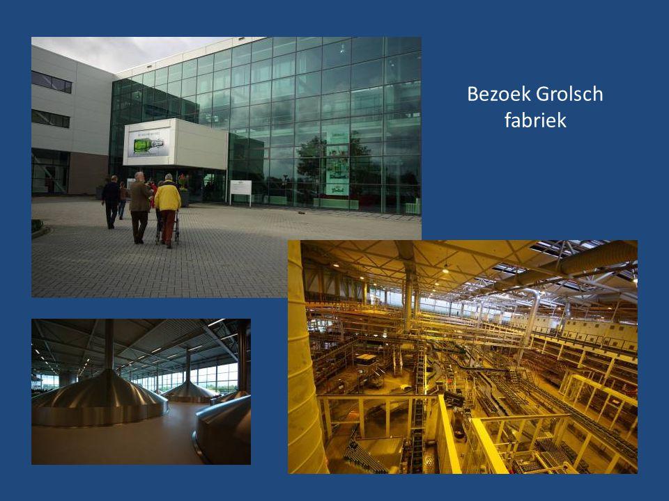 Bezoek Grolsch fabriek