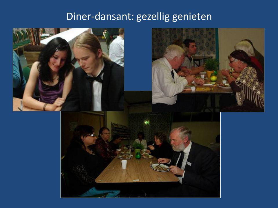 Diner-dansant: gezellig genieten