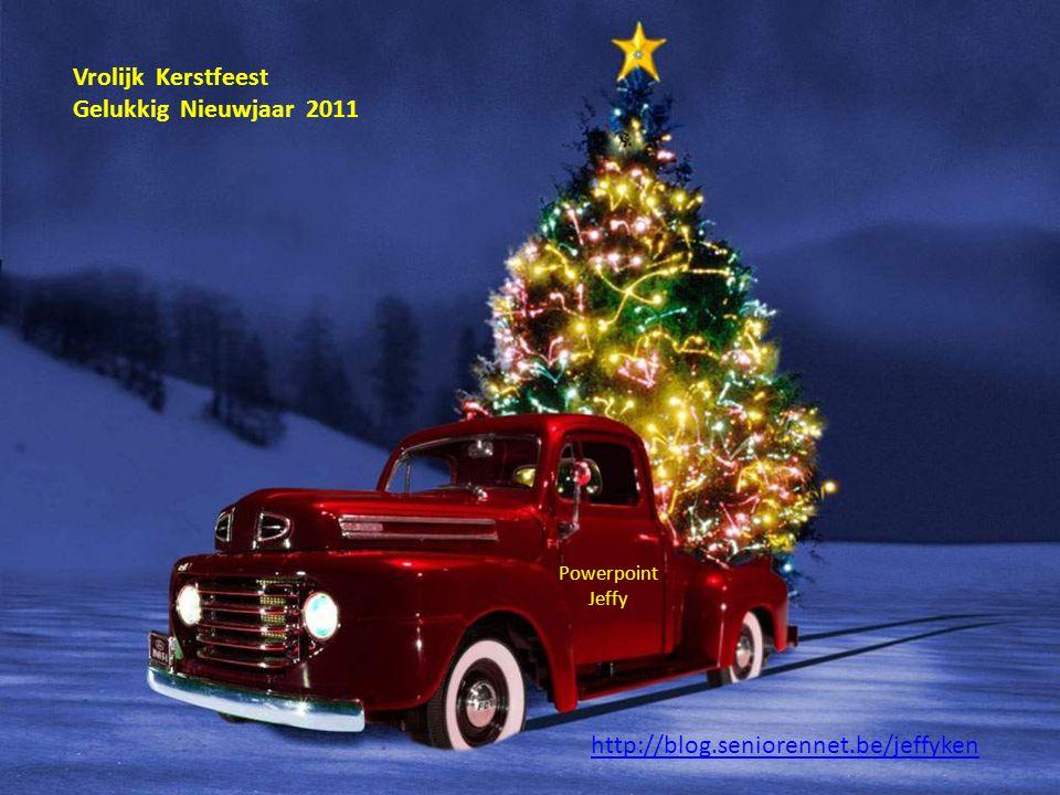 Vrolijk Kerstfeest Gelukkig Nieuwjaar 2011