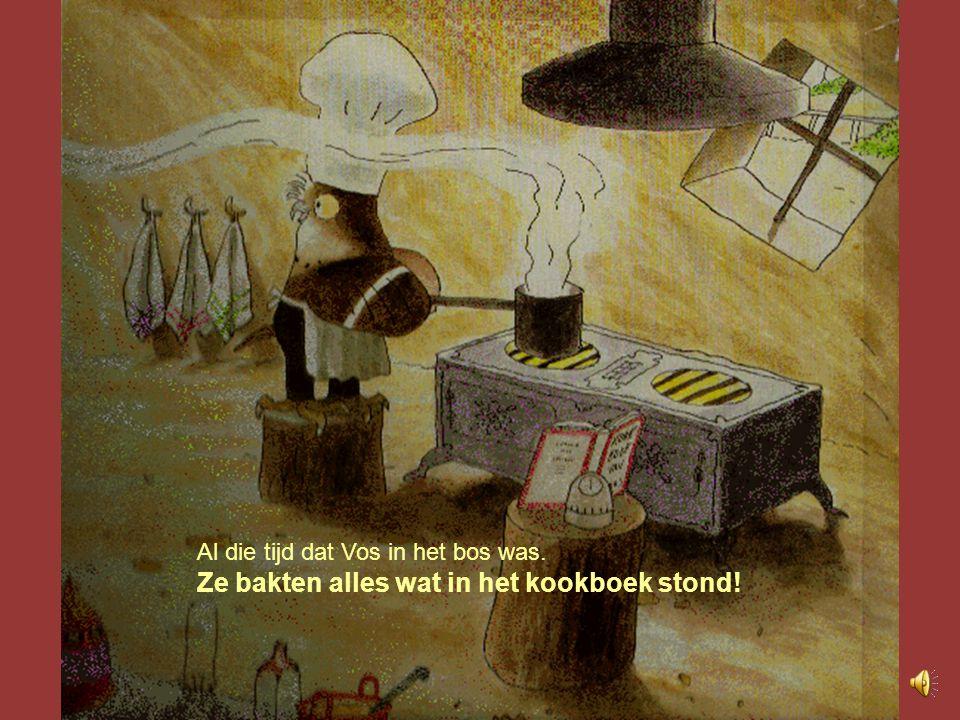 Ze bakten alles wat in het kookboek stond!